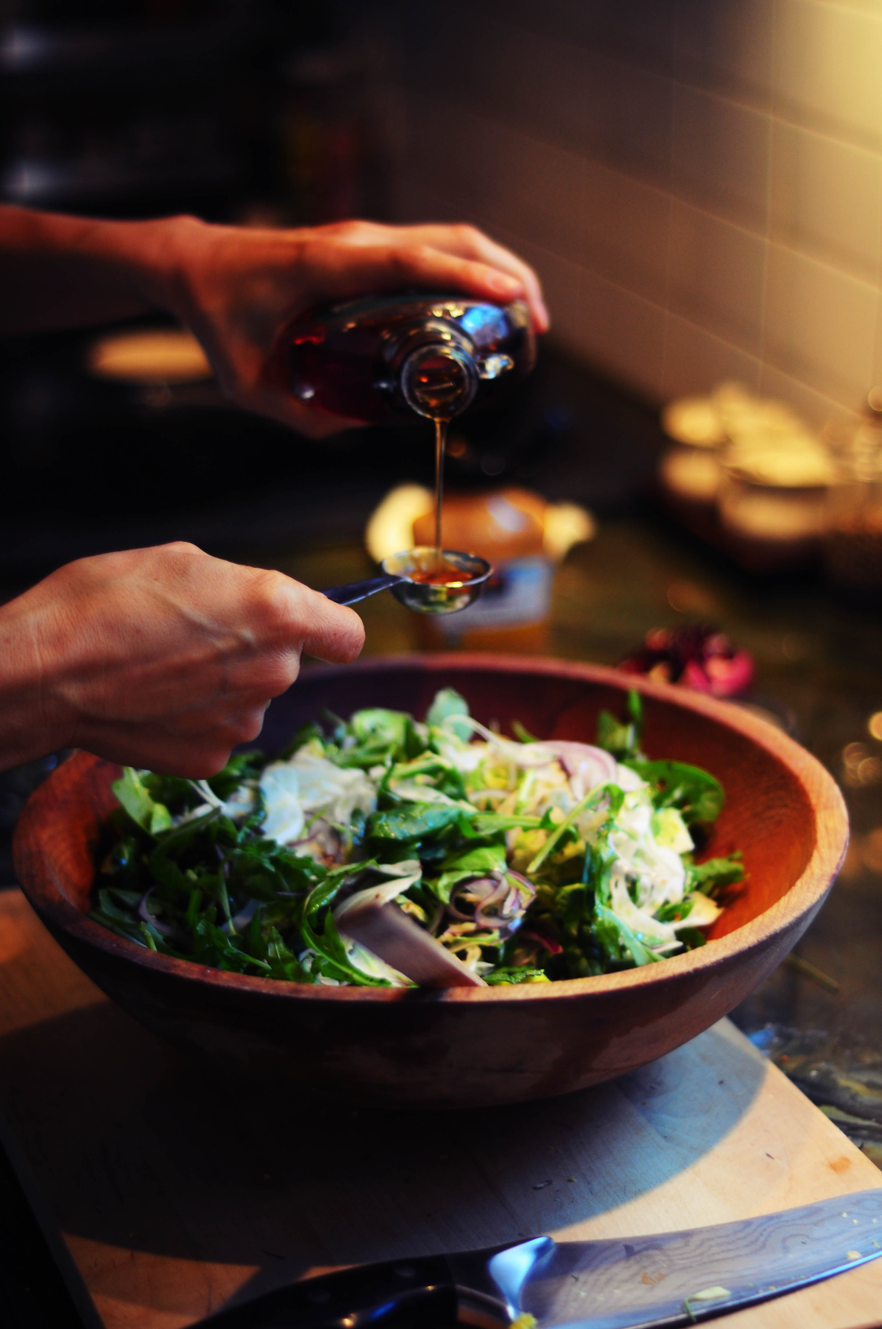 Brussels Sprout Salad with Brown Butter Hazelnut Vinaigrette | The ...