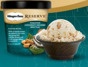 Amber Antonelli created this specialty flavor for Haagen Dazs