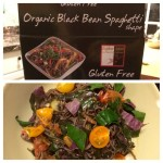 Organic Black bean pasta from Costco, nothin but beans and…