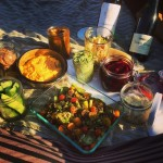 Picnic in Kennedy park with my girls @katyinmiami & @carol_lopezbethel…