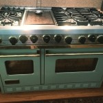 My dream stove, in my favorite color! #someday #dreambig #visualize!!!…