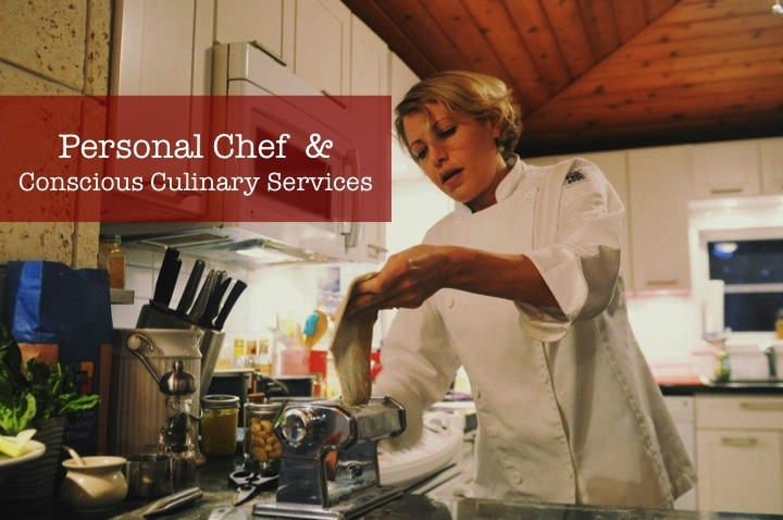 Healthy, sustainable, conscious chef for hire