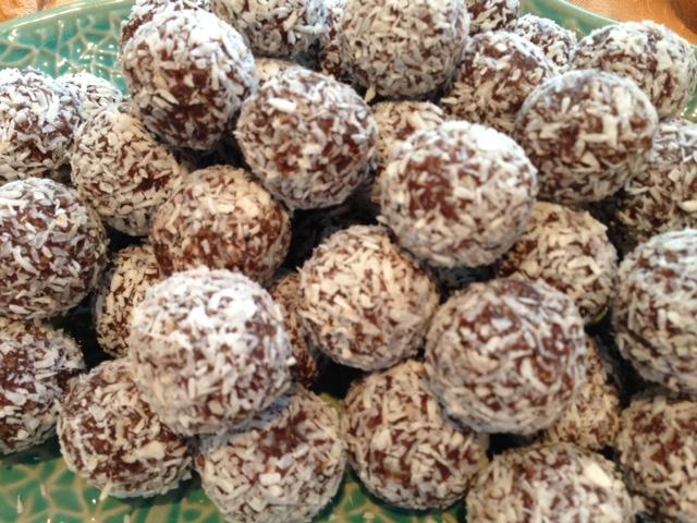 Raw Choc Truffles
