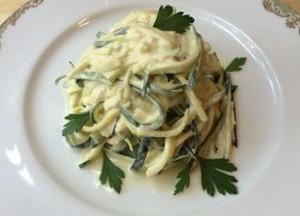 Zucchini Cashew Alfredo