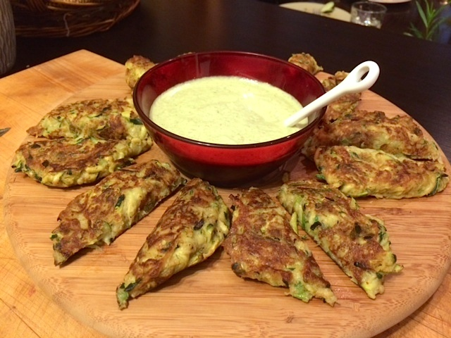 Zucchini Cakes with Spicy Lemon Coconut Sauce | The Naked ...