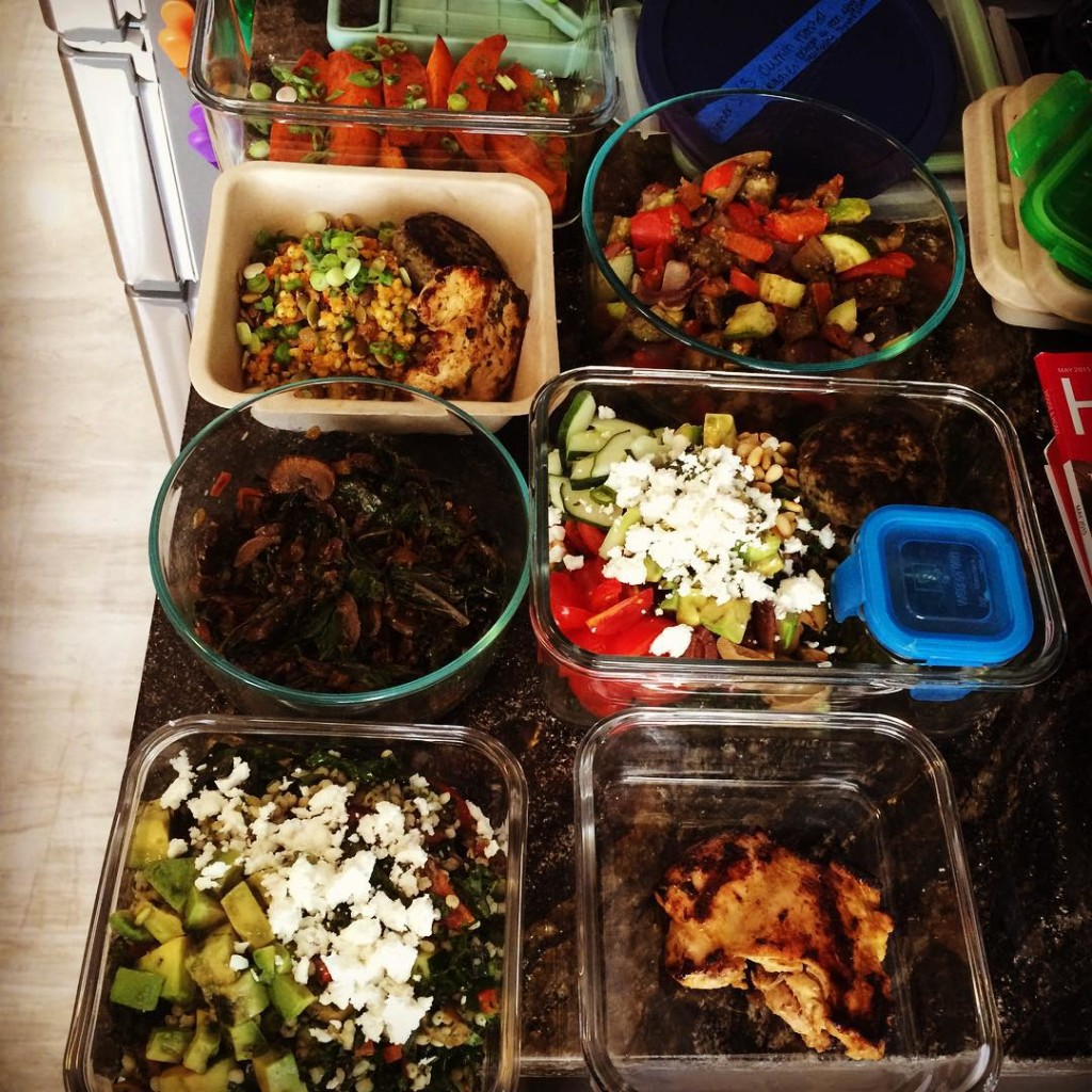 the steps on how to plan and prep your meals for much of the week and help ease some stress, yeeeee-haw!