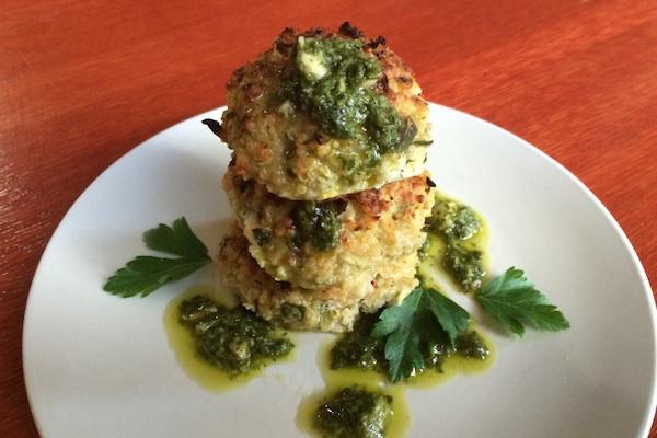 Cauliflower Quinoa Balls