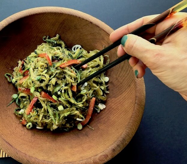 Kelp Zucchini Noodles